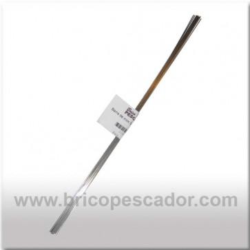 Alambre de Inox 0.6 X 150 mm. (10 Uds)