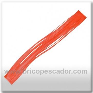 Faldillín vinilo 20 fibras naranja fluor (5unid.)