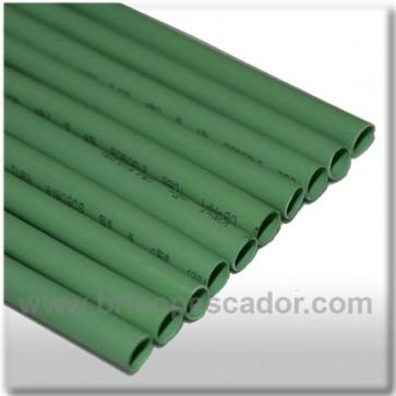 Funda termorretractil 10 cm y 6 mm . Verde