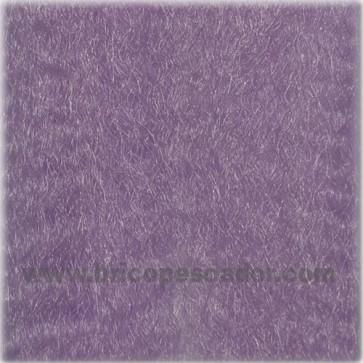 Pelo sintético púrpura