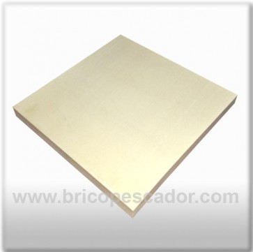 plancha de poliuretano 250 kg/m3