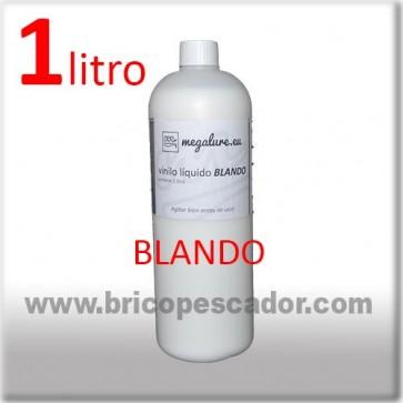 vinilo líquido blando megalure 1L.