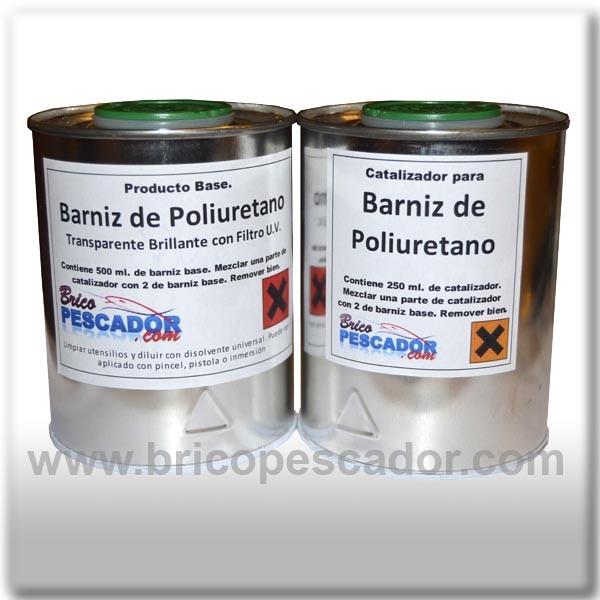 Barniz de poliuretano de 2 componentes transparente - Silicona de poliuretano ...