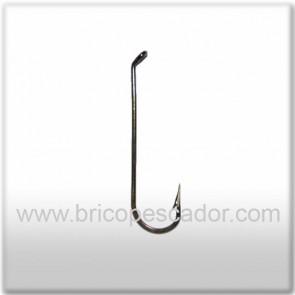 Anzuelo bronce tija larga VMC # 6