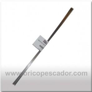 Alambre de Inox 0.8 X 150 mm. (10 uds)