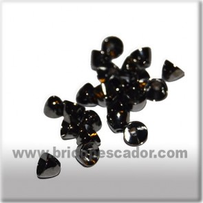 Cabeza cónica negra 6 X 5 mm. (20 uds.)
