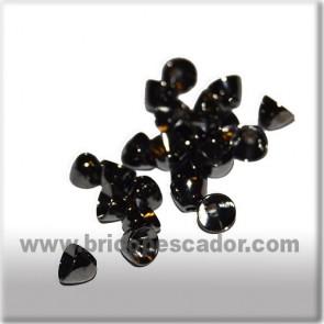 Cabeza cónica negra 5 X 4 mm. (20 uds.)