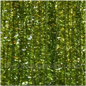 chenille verde oliva