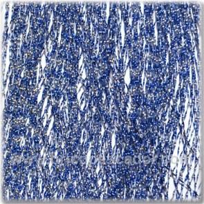 Cristal Flash  azul y plata
