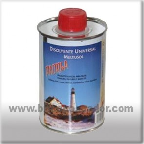 Disolvente universal Paorga. Bote de 500 ml.