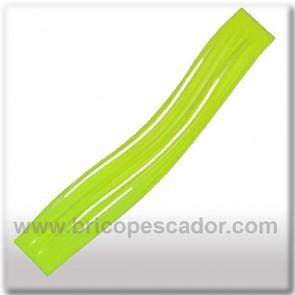 Faldillín vinilo 20 fibras amarillo fluorescente (5 unid.)
