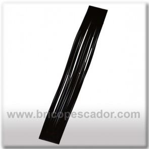 Faldillín vinilo 20 fibras negro (5 unid.)