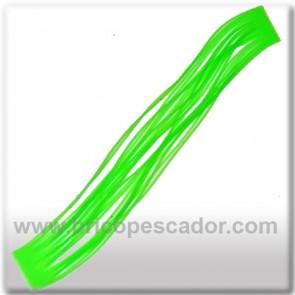 Faldillín vinilo 20 fibras verde (5 unid.)