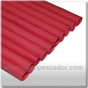 funda termorretractil 8mm rojo