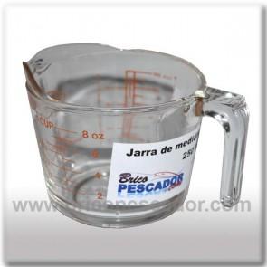 Jarra de medidas de Borosilicato (250 ml.).