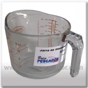 Jarra medidas boro-silicato (0,5 l.).