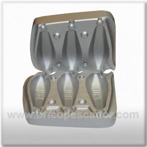 Molde aluminio hexagonal 180, 200 y 230 gr.