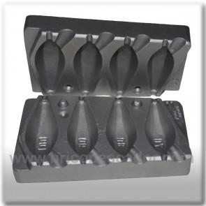 molde de aluminio para plomada de tunel 70-100 (2)