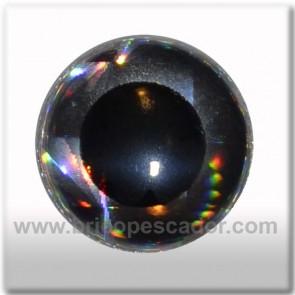 ojo 3d plata holografico 17mm