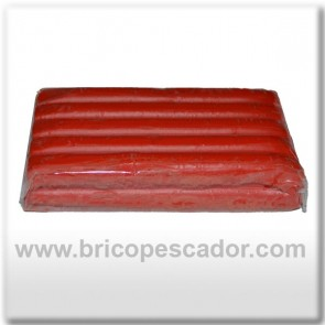 Plastilina para modelados roja