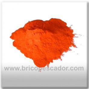 pintura en polvo termoplastificante naranja