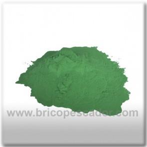 Pintura en polvo verde. (100 gr.)