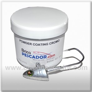 Powder coating efecto cromo