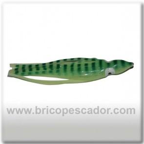 Pulpito vinilo 10 cm luminiscente - verde