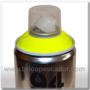 Spray Montana Fluorescente Amarillo 400 ml.