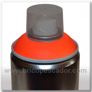 Spray Montana Fluorescente Naranja 400 ml.