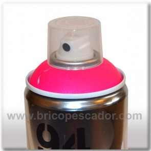 Spray Montana Fluorescente Fucsia 400 ml.