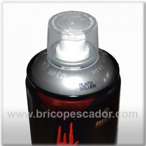 Spray Montana Indstrial Plata Cromada 400 ml.