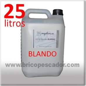 vinilo liquido blando megalure 25L.