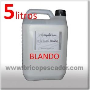 vinilo liquido blando megalure 5L.